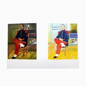Autoportrait - Lithographie 1965