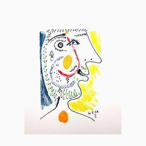 Le Gôut du Bonheur: one plate - Portrait 1970