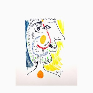 Le Gôut du Bonheur: une assiette - Portrait 1970