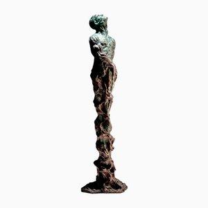Sculpture Ian Edwards The Root Within - Sculpure Signée Original en Bronze 2017