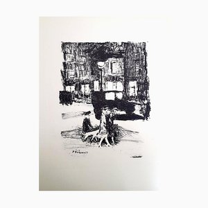 Pierre Bonnard - The Street - Original Etching 1927