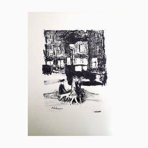 Pierre Bonnard - The Street - Original Radierung 1927