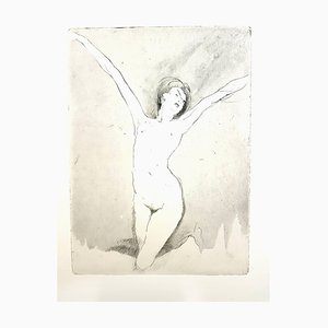 Jean Gabriel Domergue - Happiness - Original Etching 1924