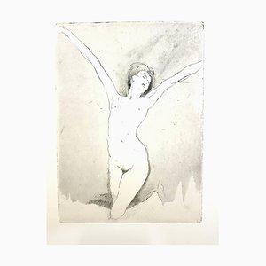 Jean Gabriel Domergue - Happiness - Original Radierung 1924