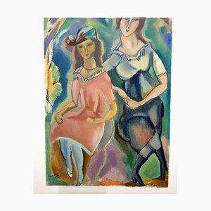 Féminité - Lithographie 1965