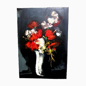 Flowers - Lithograph 1965