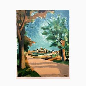 Provence Village - 1965 Lithographie