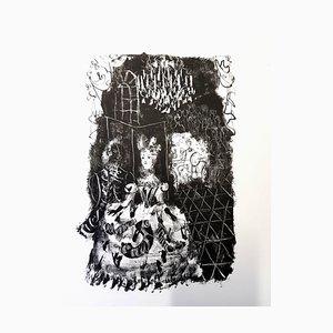 Antoni Clavé - Original Lithograph - For Pushkin's Queen of Spades 1946