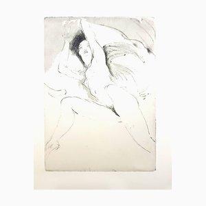 Jean Gabriel Domergue - Woman - Original Etching 1924