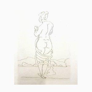 André Derain - Ovidides heroides - Grabado aguafuerte original 1938