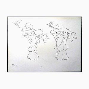 Henri Matisse (After) - Lithographie - Blumen 1943