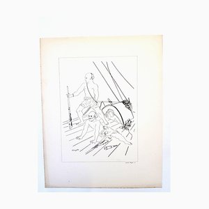 Leonard Foujita - Soldiers - Original Lithografie 1928