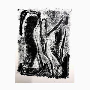 Lithographie Jean-Michel Atlan - Kafka - Original 1946