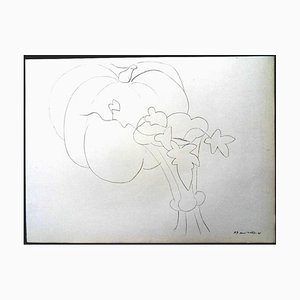 Henri Matisse (After) - Lithografie - Kürbis und Blumen 1943