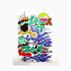 Litografia di Charles Lapicque (after) - Homage to Dufy - 1965