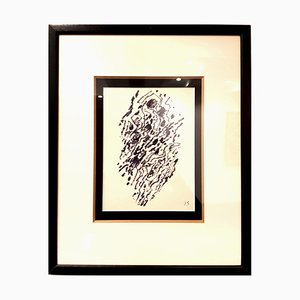 Jacques Germain -Untitled - Original Signed Ink C.1970