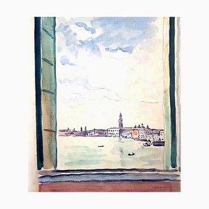 Albert Marquet - Venice Journey - Portfolio of 31 Original Etchings 1947