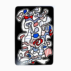 Jean Dubuffet - Le Gitan - Original Screenprint 1967