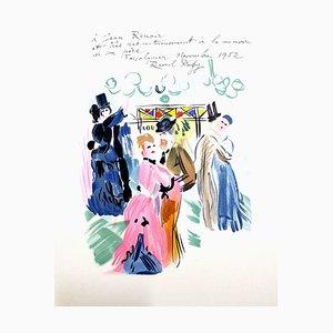 Hommage à Renoir - Lithographie 1965