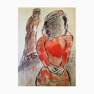 Marc Chagall - The Bible - Tamar - Original Lithograph 1960