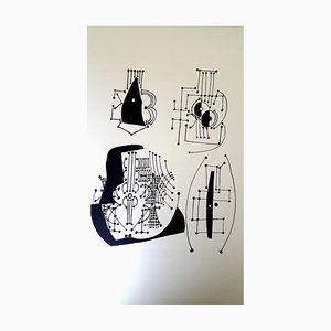 Pablo Picasso (nachher) Helene Chez Archimede - Holzstich 1955