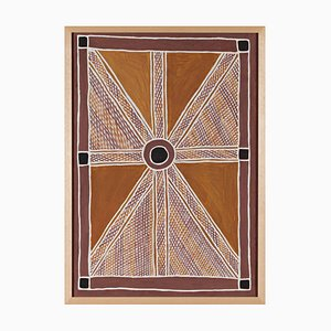Anita Ganbuganbu - Untitled - Australian Aboriginal Painting 2010