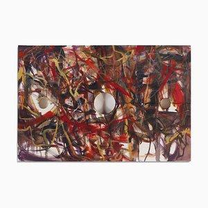 Jim Shaw - Stocks Gemälde - Signiert und Datiert Öl auf Leinwand 2006