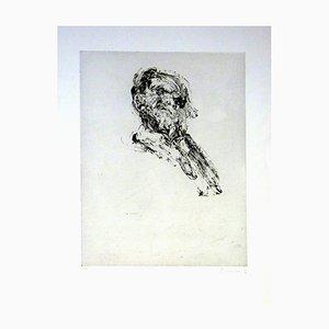 Claude Weisbuch - Portrait - Signed Original Engraving