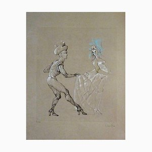 Leonor Fini - Women - Original Signed and Numbered Engraving 1960s