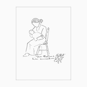 Louis Toffoli - Motherhood - Dibujo original firmado