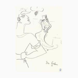 Lithographie Jean Cocteau 1950s