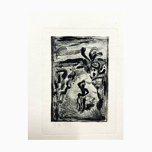 Georges Rouault - Originalgravur - Ubu the King 1929