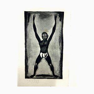Georges Rouault - Originalgravur - Ubu the King 1929