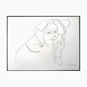 Henri Matisse (After) - Litografía - Flowers 1943