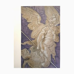 secondo Niccolo dell'Abbate - Riproduzione litografica