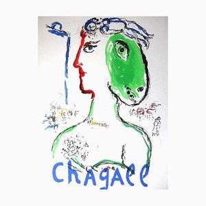 Marc Chagall - L'Artiste Phénix - 1970s Original Poster 1972