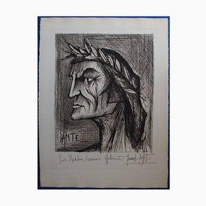 Bernard Buffet - Dante - Original Signed Lithograph 1976