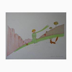 d'après Antoine de Saint Exupéry - Le Petit Prince et le Renard