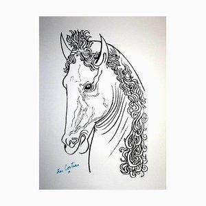 Jean Cocteau - Artaban - Litografia originale, 1961