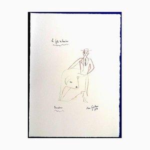 Jean Cocteau - Torero's Son - 1965 Originale Lithographie