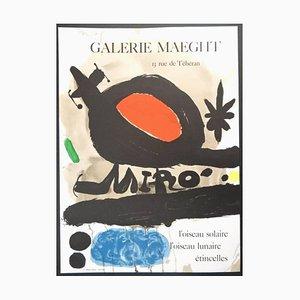 Joan Miró - Sun Bird - Original Poster 1967