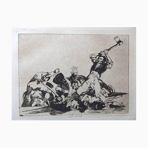 Francisco Goya - The Disasters of War - 80 Original Etchings 1937