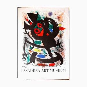 Joan Miró - Pasadena Art Museum - Originales Plakat 1969