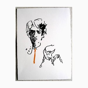 Jean Cocteau - The Elegant Toreador - 1961 Originale Lithographie