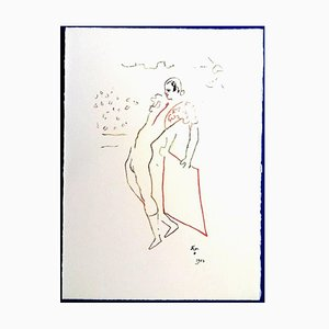 Jean Cocteau - The Toreador - Original Lithograph 1961