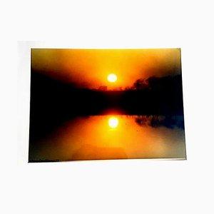 Fontana Franco - Sunset - Fotografía firmada y fechada de 1973