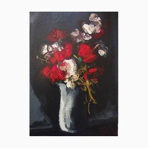 Maurice de Vlaminck - Roses - Signierte Lithographie