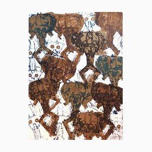 Arman - Kola Sculptures Accumulation - Original Signed Lithograph 1998