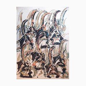 Lithographie Arman - Tchi Wara - Original Signed 1998