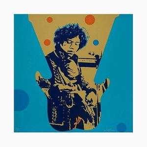 Ivan Messac - Jimi Hendrix - Lithographie Originale 2012